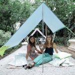 Miasun – la toile d'ombre transportable qui remplace le parasol